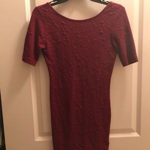 Form fitting dress from H&M size 6